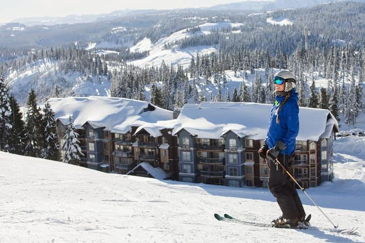Skiing into the Raven Lodge. Photo by Jen Dykstra